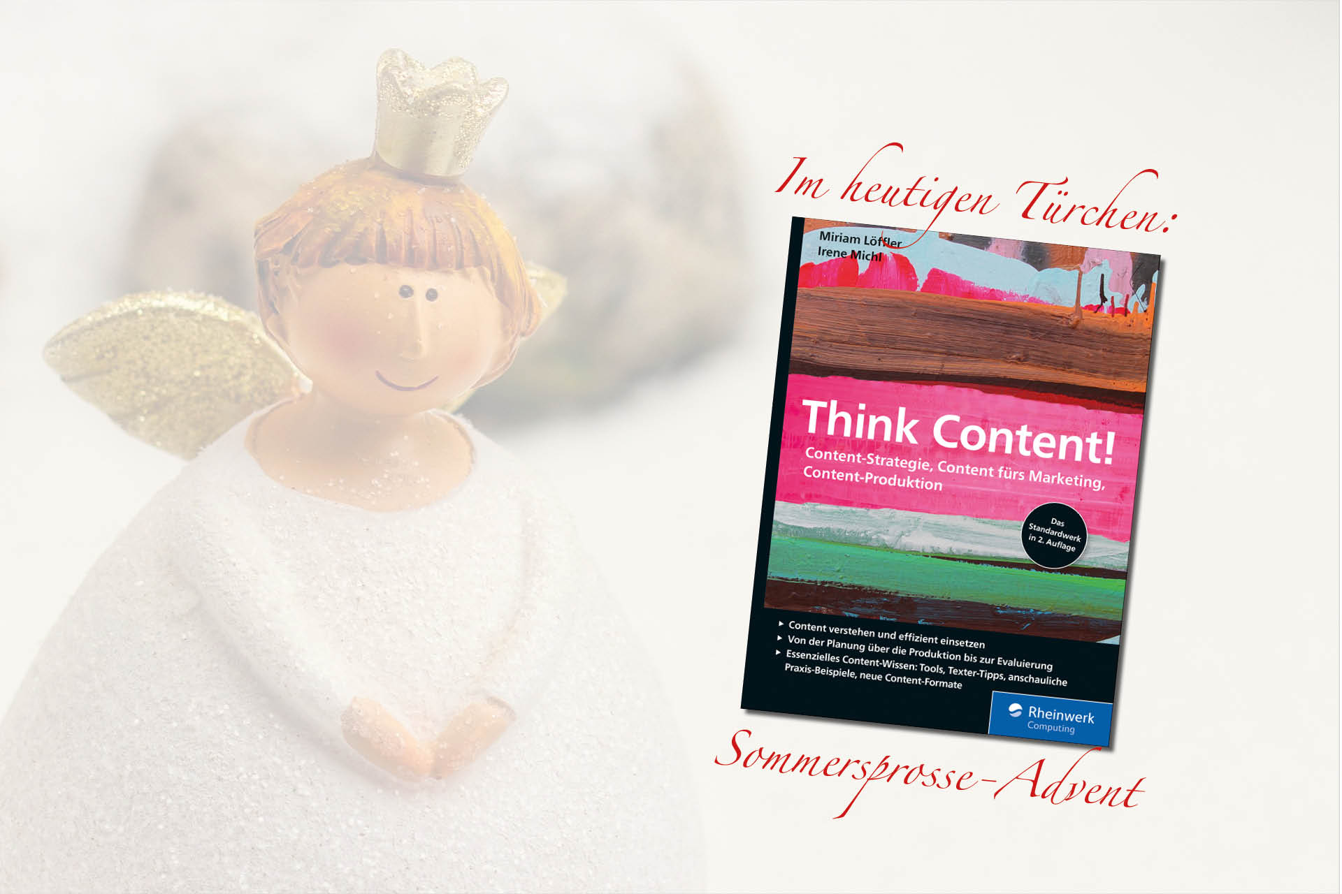 Buchcover: Think Content